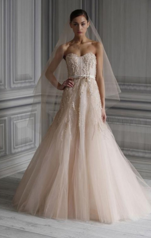 vera wang | Sequin and Tulle
