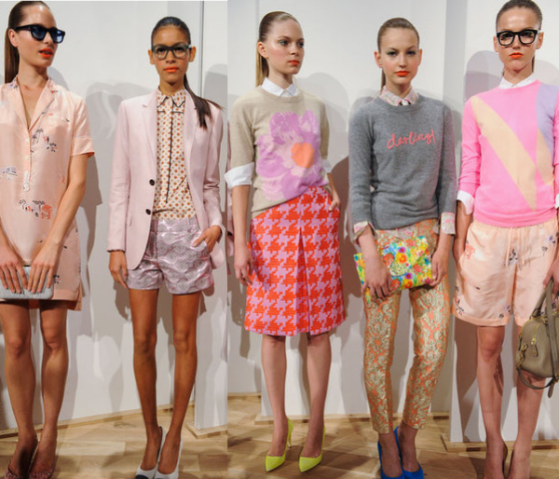 J Crew Spring 2013 Collection