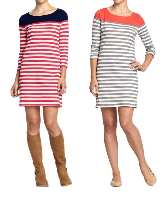 Color Block Stripe dress Old Navy