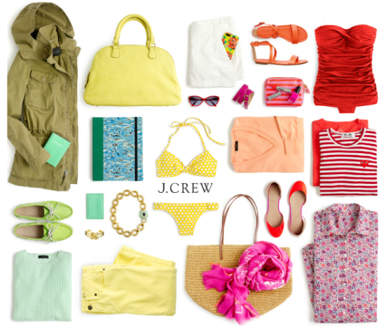 colors jcrew vacation